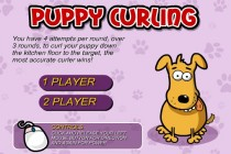 Puppy Curling