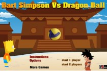 Bart Simpson vs Dragon Ball